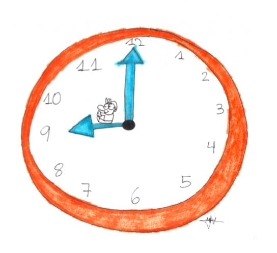 Entrenamiento en funciones ejecutivas metacognición ejercicio 2 reloj